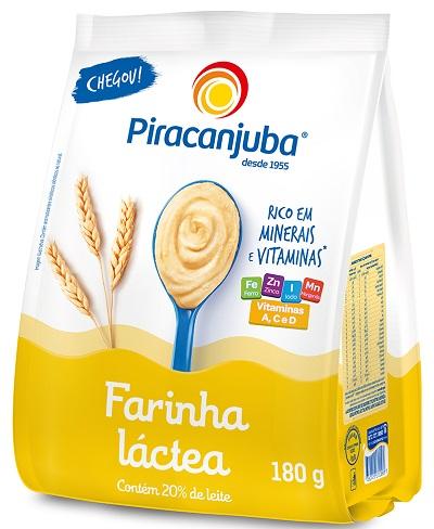 FARINHA LACTEA PIRACANJUBA POUCH 180G