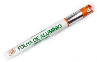PAPEL ALUMINIO MELLO 45CM X 4 M