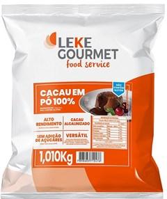 CACAU 100% PO LEKE GOURMET 1,010KG PCT