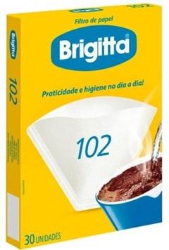 FILTRO PAPEL P/CAFE BRIGITTA N-102
