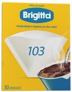 FILTRO PAPEL P/CAFE BRIGITTA N-103