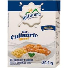 CREME LEITE CULINARIO TP 200G IBITURUNA