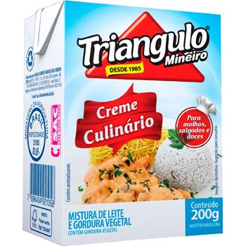 CREME LEITE CULINARIO TP 200G TRIANGULO