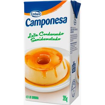 LEITE COND CAMPONESA TP 395G S DES 4,5%G