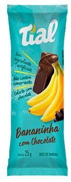 BANANINHA TIAL C CHOCOLATE 25G