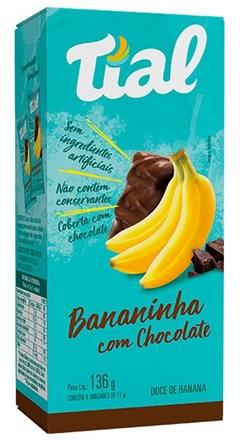 BANANINHA TIAL CHOCOLATE CARTUCHO 8X17G