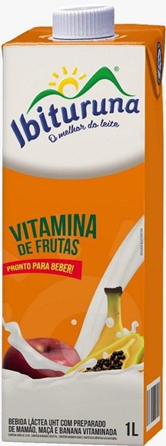 BEB LAC LIQ IBITURUNA 1L VITAMINA FRUTAS